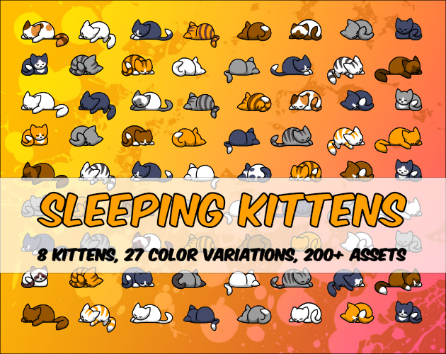 Sleeping Kittens Cover