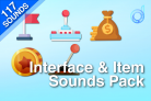 Interface & Item Sounds Pack
