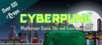 Cyberpunk Platformer Tileset